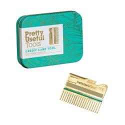Kreditkortværktøj i guld - Pretty Useful Tools