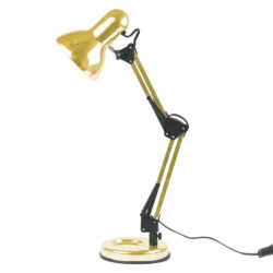 Bord Lampe Hobby Guld Farve