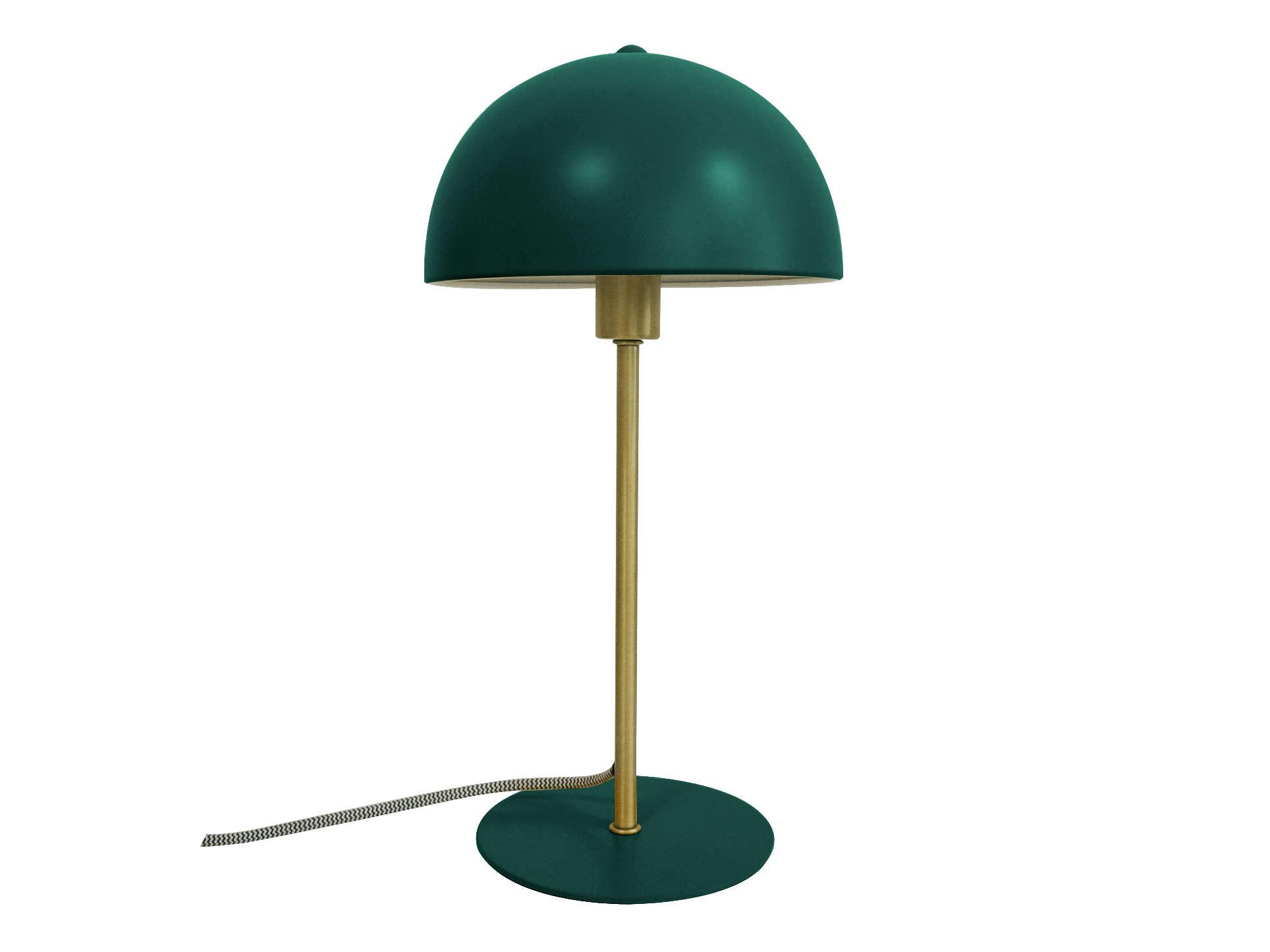 Picture of: Bord Lampe Bonnet Gron Designerlamper Fra Lykkedeluxe