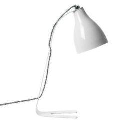 Barefoot bordlampe - hvid
