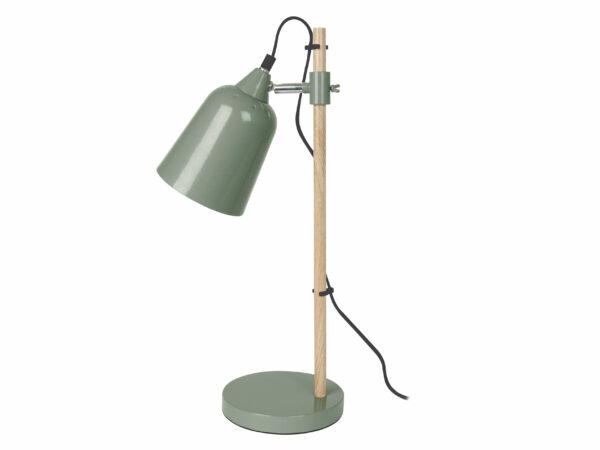 Leitmotiv Wood-like bordlampe junglegrøn