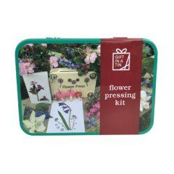 Blomsterpressesæt fra Gift in a Tin